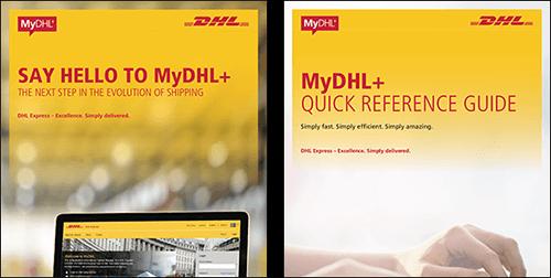 MyDHL+ Guia de consulta rápida
