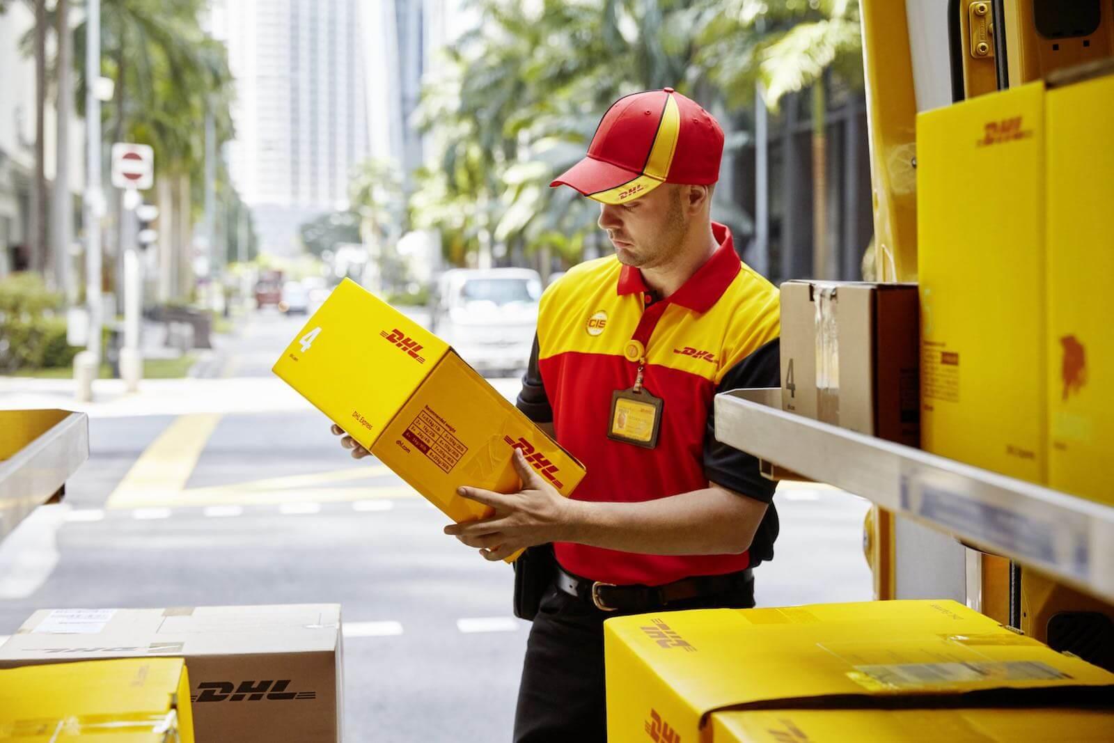 Obter cotação para envio de encomendas DHL